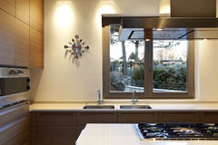 Interior, kitchen Stock Photos