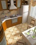 Interior of kitchen Stock Image
