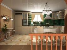 Interior of kitchen Stock Photo