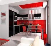 Interior of kitchen Royalty Free Stock Photo