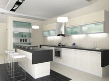 Interior of kitchen Royalty Free Stock Images