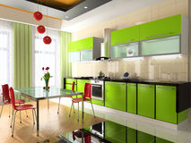 Interior of kitchen Royalty Free Stock Photography