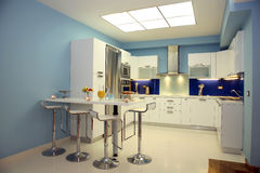 Interior of kitchen Royalty Free Stock Image