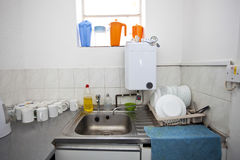 Interior of kitchen in television studio Royalty Free Stock Photography