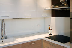 Interior kitchen view Stock Image