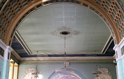 Interior Kiyevskaya railway station  (Kiyevsky railway terminal,  Kievskiy vokzal) -- Moscow, Russia Stock Photo