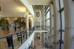 Interior of the Knesset Royalty Free Stock Image
