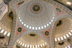 interior of Kocatepe Mosque Royalty Free Stock Photography