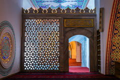 Interior of the Kocatepe mosque in Ankara Stock Images