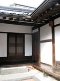 Interior of korean Traditional House Royalty Free Stock Photography