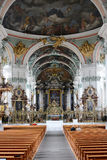 Interior la abadía de la rozadura del santo Foto de archivo