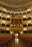 Interior of La Fenice Theatre Royalty Free Stock Images