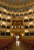 Interior of La Fenice Theatre Royalty Free Stock Images