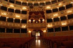Interior of La Fenice Theatre Royalty Free Stock Image