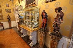 Interior of the La Scala Museum, Milan, Italy Stock Image