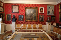 Interior of the La Scala Museum, Milan, Italy Stock Photography