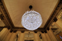 Interior of the La Scala theater, Milan, Italy Royalty Free Stock Photography