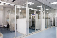Interior of lab. For cell culture Royalty Free Stock Photography