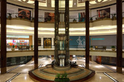 Interior of Lagoona Mall in Doha Royalty Free Stock Image