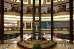 Interior of Lagoona Mall in Doha Royalty Free Stock Image