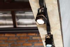 Interior lamp for lobby Royalty Free Stock Photo