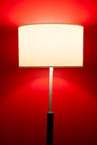 Interior lamp on red Stock Photo