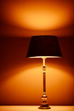 Interior lamp with warm light Stock Image