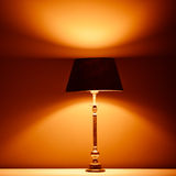 Interior lamp with warm light Stock Images