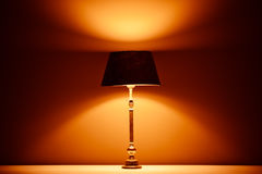 Interior lamp with warm light Royalty Free Stock Image