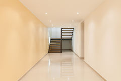 Interior, large corridor Stock Images