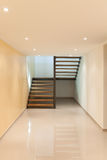 Interior, large corridor Royalty Free Stock Photography