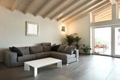 Interior, large livingroom