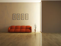 The interior of a large room Royalty Free Stock Photo