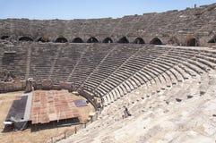 Interior lateral del Amphitheatre Fotos de archivo