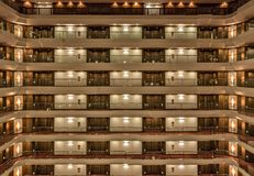 Interior Of The Le Meridien Hotel Royalty Free Stock Image