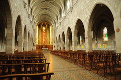 Interior Les Mureaux Church Royalty Free Stock Photography