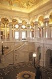 Interior of the Library of Congress, Washington, D.C. Royalty Free Stock Image