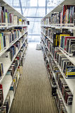 Interior library of Lasalle College of the Arts. Singapore Royalty Free Stock Photo