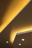 Interior of light on ceiling modern Stock Photos