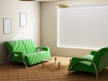 Interior in light tones Stock Photos