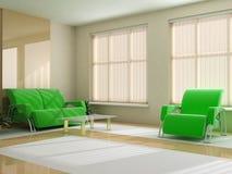 Interior in light tones Stock Images