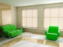 Interior in light tones Stock Photography