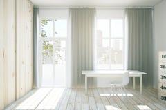 Interior with light wardrobe Royalty Free Stock Photos