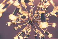 Interior lighting decor with bokeh - Stock Photography