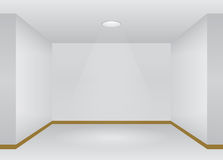 Interior with lights Royalty Free Stock Photography