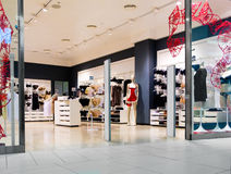 Interior of lingerie shop Stock Photo