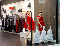 Interior of lingerie shop Stock Photo