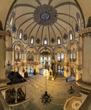 Interior of the Little Hagia Sophia in Istanbul royalty free stock image