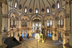 Interior of the Little Hagia Sophia in Istanbul royalty free stock photos