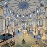 Interior of the Little Hagia Sophia in Istanbul, Turkey Royalty Free Stock Photography